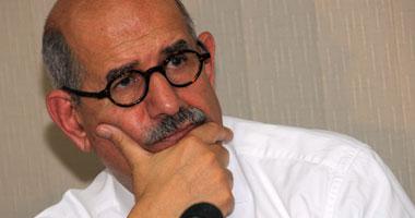 الدكتور محمد البرادعى المدير السابق للوكالة الدولية للطاقة الذرية والمرشح المحتمل للرئاسة