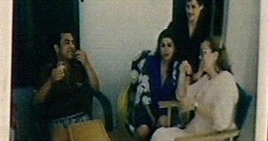 صورة الرئيس السابق وزوجته