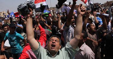 جانب من محاكمة مساعدى العادلى بتهمة قتل المتظاهرين