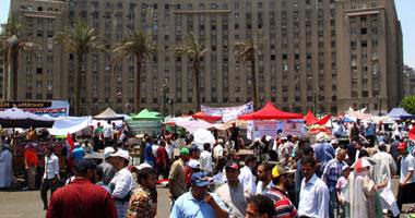"""العشرات يتوافدون """"التحرير"""" جمعة """"مصر"""