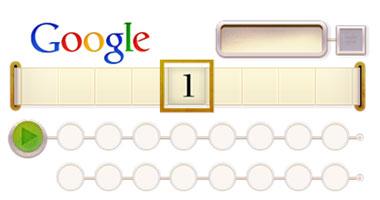جوجل يحتفل بذكرى مولد تورنج عالم الرياضيات 23/6/2012