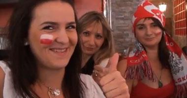 """الحسناوات يكتسحن استادات """"يورو2012"""""""