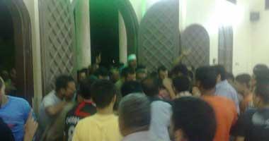 مسلمون يحرقون منازل الأسرة المسيحية التى قتلت شابا مسلما بالدقهلية