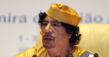 العقيد معمر القذافى