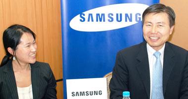 المدير العام لشركة سامسونج إلكترونيكس الكورية الجنوبية للإلكترونيات فى مصر دوك بارك