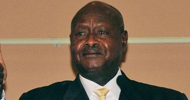 الرئيس الأوغندى يوويرى موسيفينى