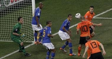 """هولندا تطيح بـ""""البرازيل"""".. وتصعد لنصف النهائى Smal72010219162"""