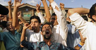 مظاهرات فى كشمير للمطالبة بإنهاء حكم الهند