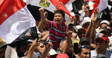 وصول متظاهرى روكسى إلى ميدان التحرير