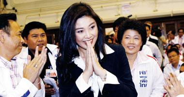 رئيسة الوزراء ينجلوك شيناواترا