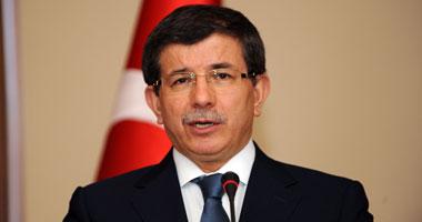 وزير الخارجية التركى أحمد داوود أوغلو