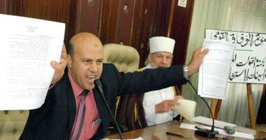 """حصريا اخر الاخبار 2011 شجار بـ""""الوفاق القومى"""" بسبب الشيعة وتحذير من اختراق الثوار Smal720113174258"""