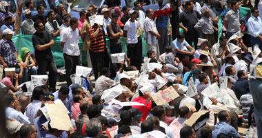 متظاهرو السويس