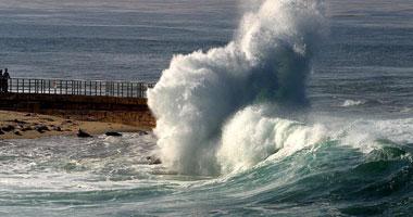 ارتفاع أمواج البحر