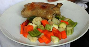 طريقة الدجاج المحشى بالأرز واللحم  Smal8201028104656