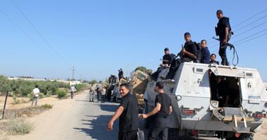 قوات الأمن بسيناء - صورة أرشيفية