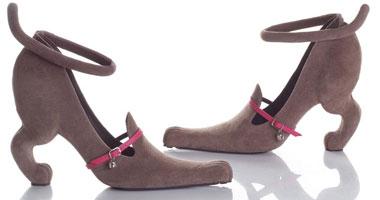 f41f2de007b6e بالصور.. تصميمات أحذية غريبة - اليوم السابع