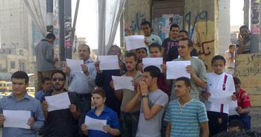 العشرات بالمحلة يطالبون بإلغاء قانون الطوارئ  Smal920111616730