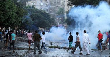 القبض متظاهرين بشارع الكورنيش