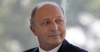 صورة وتعليق وزير الخارجية الفرنسى لوران فابيوس<br>