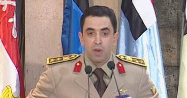 العقيد أركان حرب أحمد محمد على المتحدث باسم القوات المسلحة