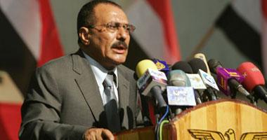 على عبد الله صالح رئيس اليمن