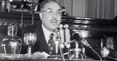 محلب ناعيا عبد القادر حاتم رئيس وزراء مصر الأسبق كان مثالا يحتذى