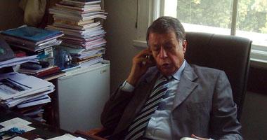 السفير محمد صبيح الأمين العام المساعد بالجامعة العربية