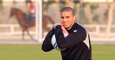 محمد زيدان لاعب المنتخب الوطنى