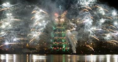 احتفالات العالم بالكريسماس