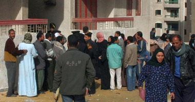 500 أسرة بالدويقة يحاولون اقتحام منشأة ناصر