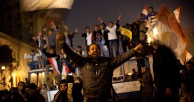 جانب من مظاهرات التحرير