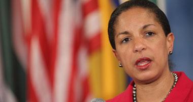 السفيرة الأمريكية فى الأمم المتحدة سوزان رايس