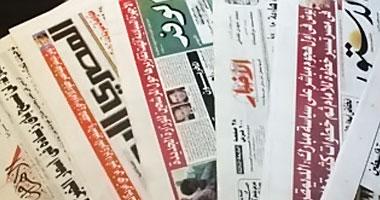 """""""الصحف المصرية"""": الرئيس يتدخل بنفسه.. """"كالعادة"""".. القبض على صلاح دياب ونجله بسبب """"الأراضى"""" و""""السلاح"""".. """"الأخبار"""" تنفرد بنشر ملامح قانون التأمينات الجديد.. عامر: توفير العملة الصعبة للمصانع"""
