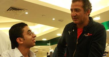 الكاتب هيثم دبور مع المهندس محمد الصاوى