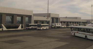 وفد روسى يتفقد الإجراءات بمطار الغردقة استعدادا لعودة الطيران