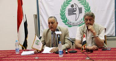 اليوم.. اتحاد الطائرة يقيم مؤتمرا صحفيا لتوضيح اتهامات المعارضة
