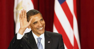 بالصور أوباما يلقى خطابه فى جامعة القاهره Small620094151728