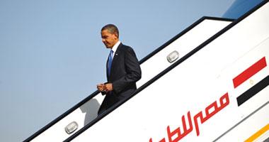 باراك أوبامايصل الى القاهره Small6200949313