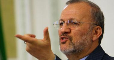 وزير الخارجية الإيرانى منوشهر متقى