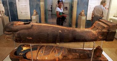المت�ف المصرى  الكبير - صورة ارشيفية