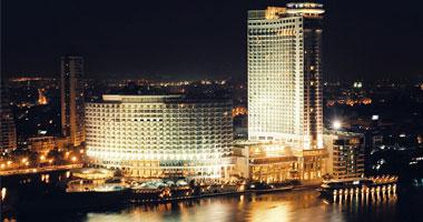 حريق بفندق جراند حياة بشارع التحرير ظهر اليوم