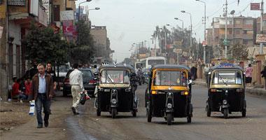 قارئ يناشد منع مركبات التوكتوك من السير بشوارع مدينة ٦ أكتوبر
