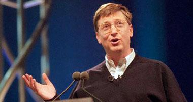 بيل جيتس مؤسس وصاحب شركة مايكروسوفت