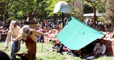 الإهمال يغتال حديقة مبارك العامة بالعريش