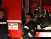 اشتعال النيران بسيارة ملاكى فى ميدان الشون بالمحلة دون وقوع إصابات