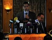 """بدء مؤتمر اندماج """"مصر القوية"""" و""""التيار المصرى"""" بحضور نجل القرضاوى"""