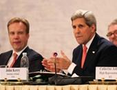 كيرى يشدد على ضرورة التوصل إلى اتفاق مع إيران حول ملفها النووى