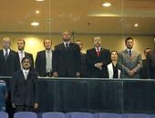 مسئولو مصر والجزائر وتونس يتابعون لقاء الزمالك والشبيبة من المقصورة