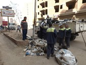رفع وإزالة 1100 طن من المخلفات والقمامة خلال إجازة عيد الفطر بالمنيا